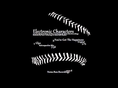 "Electronic Characters ""Glyx"" (Retrospective Mix)"