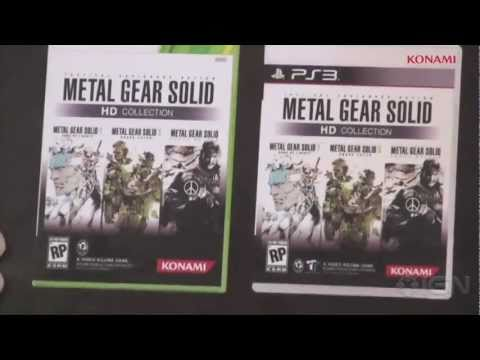 Metal Gear Solid HD Collection: E3 2011 Announcement