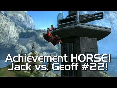 Halo: Reach - Achievement HORSE #22! (Jack vs. Geoff in an Epic Battle)