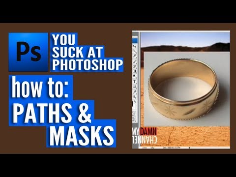 Paths and Masks - You Suck at Photoshop