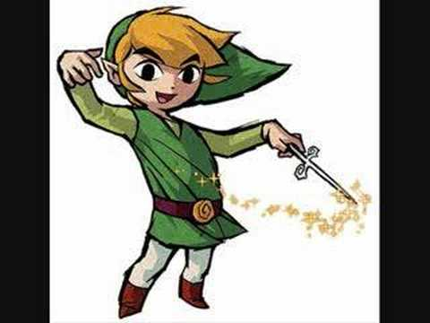 the legend of zelda-wind waker link's theme song