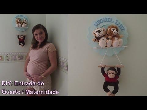 DIY: Porta de Maternidade (Faça você mesma)