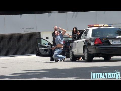 Police Arrest Prank On Mom!