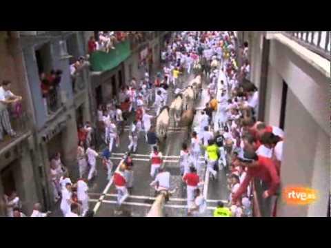 Cuarto encierro de San Fermín 2011. 10-07-2011