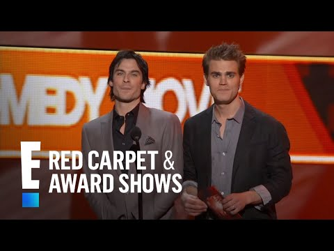 Ian Somerhalder and Paul Wesley present at People's Choice Awards 2012