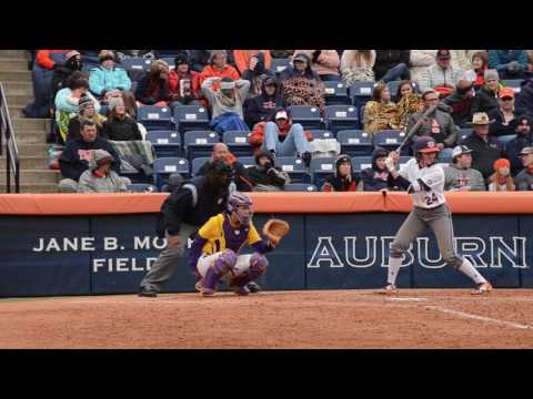 A brief highlight reel of Auburn Softball's 2017 SEC opening series versus LSU. After splitting the series at 1-1, Auburn won the final game to win the series.