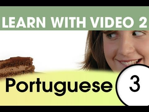 Learn Portuguese with Video - Top 20 Brazilian Portuguese Verbs 1