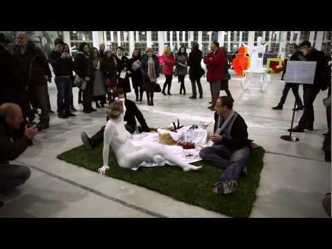 La Colazione Sull' Erba HD 54.Biennale di Venezia Pad.Italia by FRANCO LOSVIZZERO