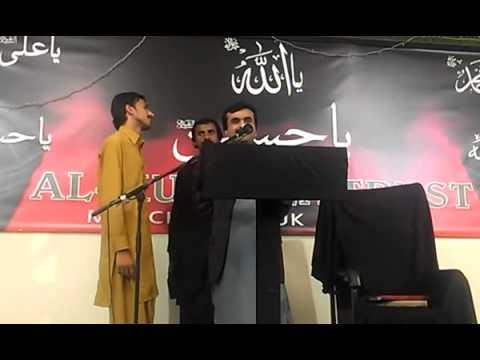 """Zakir Qazi Waseem Abbas """" New Qasida """" 2012 """" Momin Da Aqeeda Nahin Honda Kamzoor """""""