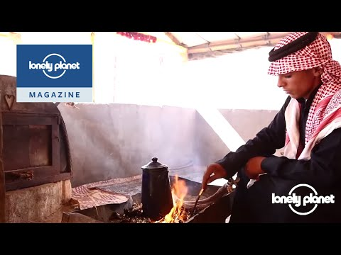 Coffee in the desert in Petra, Jordan - Lonely Planet travel video