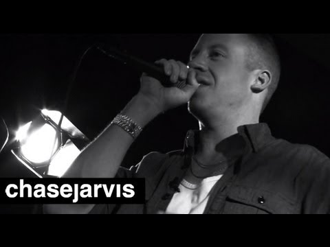 "MACKLEMORE & RYAN LEWIS ""Wing$"" on Chase Jarvis LIVE"