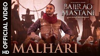 Malhari Official Video Song - Bajirao Mastani