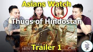 Thugs Of Hindostan - Official Trailer | Amitabh Bachchan | Aamir Khan | Reaction - Australian Asians