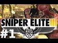 "Sniper Elite 3 Authentic Difficulty Gameplay Walkthrough Part 1 ""Sniper Elite 3"" Afrika Co-op"