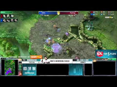 Top 5 Plays - Episode 15 feat iNcontroL, DongRaeGu, Dragon, HerO, Sheth - IPL StarCraft 2