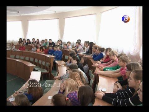 Дети из«Лазурного» ознакомились стехнологией производства труб