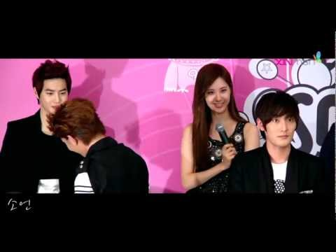 SMTOWN LIVE WORLD TOUR III in SINGAPORE Press Conference - seohyun interview