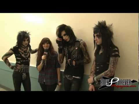Black Veil Brides (Andy Biersack) Interview With Rock Forever Magazine