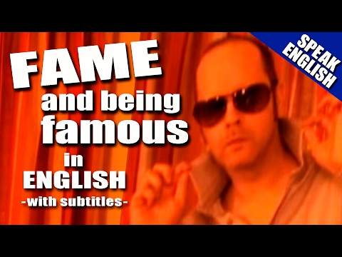 Learning English -- Lesson Nine ( FAME )