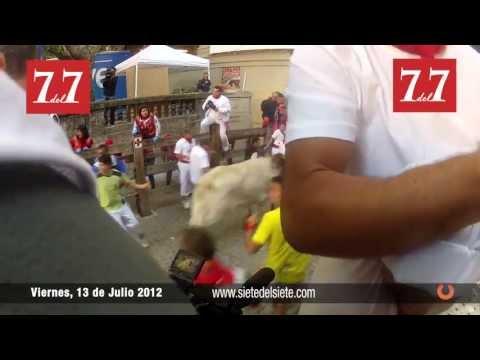 Encierro 13 de Julio 2012 - Juan Pedro Domecq