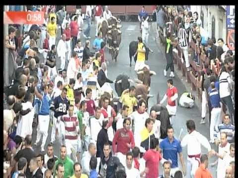 Sexto y último encierro de 2012 en San Sebastián de los Reyes