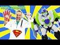 ДОКТОР ЗЛЮ и злодеи украли гаджеты супергероев!