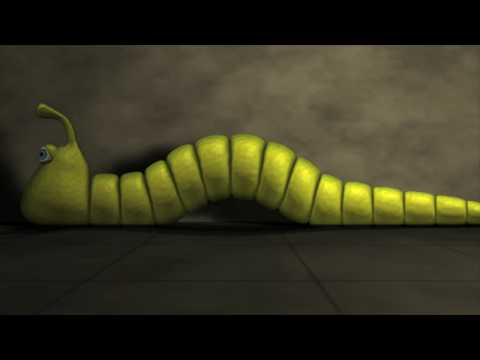Larva em 3ds Max + After effects