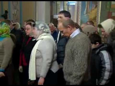 Путин встретил Рождество в верхневерейском свитере
