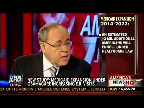 New Study: Medicaid Expansion Under Obamacare Increasing E.R. Visits - Americas News HQ