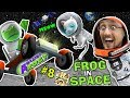 AMAZING FROG in SPACE! Creepy Kitten on Moon w/ Superman Kryptonite Laser?    FGTEEV Part 8
