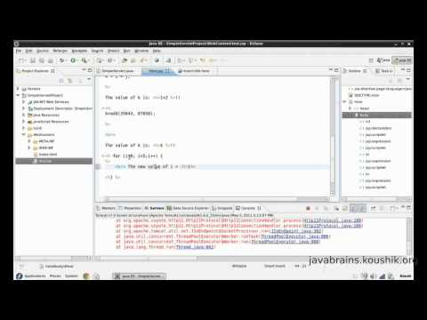 JSPs and Servlets Tutorial 11 - Understanding the JSP