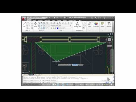 AutoCAD Tutorial - Measuring Tools