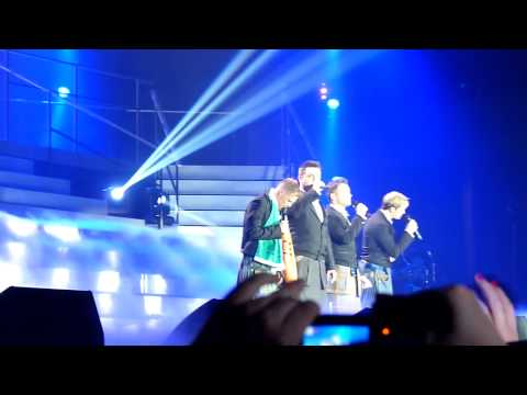 Westlife - Flying Without Wings Glasgow 19th June 2012