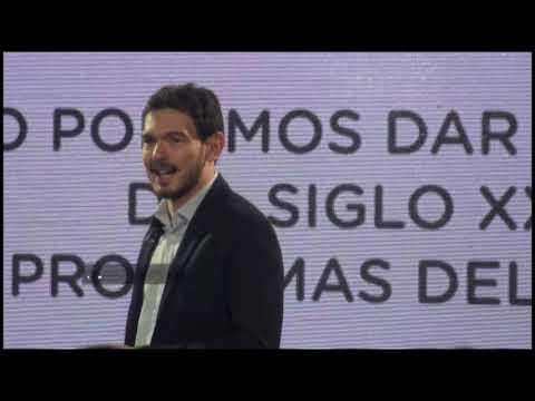 <b>Cambiemos.</b> Emanuel Gainza lanzó su proyecto &quot;Paraná 2030&quot;