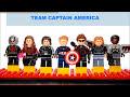 Фрагмент с средины видео LEGO® Captain America: Civil War Team Captain America vs Team Iron Man? Which Side Are You On?