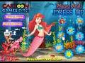 Фрагмент с конца видео - Disney Princess - Princess Ariel Dress Up (Dress Up Game for Girls)