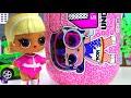 Фрагмент с средины видео - Куклы ЛОЛ Двойной КОНКУРС! Гонки и Приз ЛОЛ Декодер Мультики про куклы Игрушки #LOL Surprise