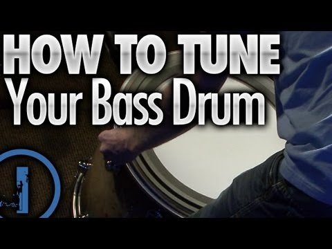 How To Tune Your Bass Drum - Drum Lessons