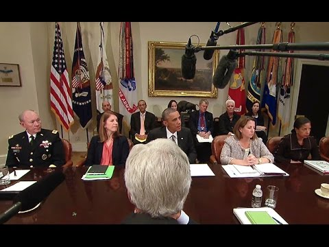 President Obama Provides an Update on the (Ebola) Outbreak  10/6/14