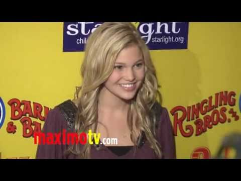 Olivia Holt at Ringling Bros. and Barnum &amp; Bailey &quot;Fully Charged&quot; Premiere