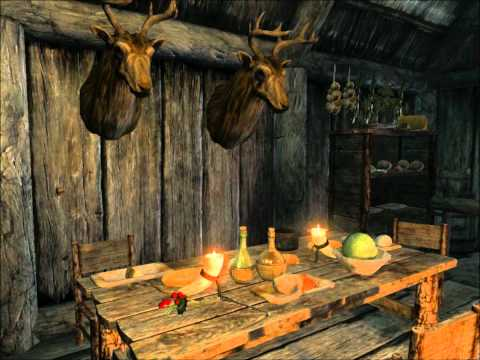 Skyrim Music 1hour 7mins of skyrim music shorts