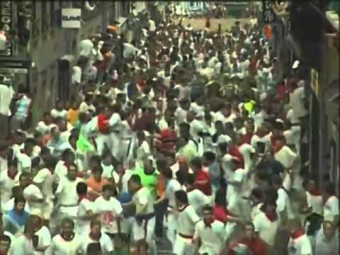 Encierro de San Fermín día 9 de Julio de 2003 480p