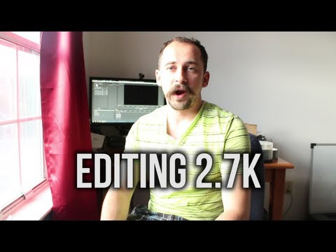 How to Edit and Export GoPro HERO3 2.7k Resolution