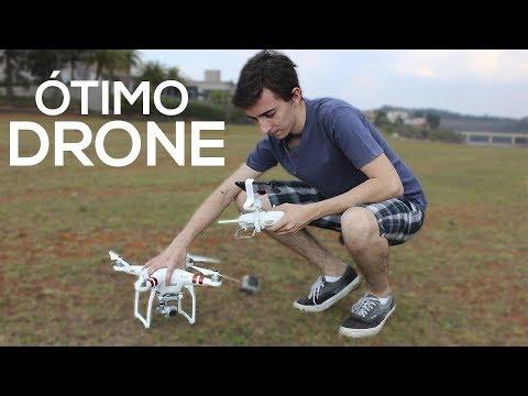 DRONE MAIS BARATO DA DJI! | PHANTOM 3 [ANÁLISE EM PORTUGUÊS]