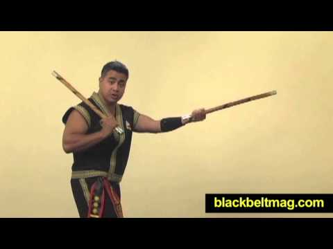 Kali Sticks Video: Filipino Fighting Arts Master Julius Melegrito Demonstrates Sinawali Basics