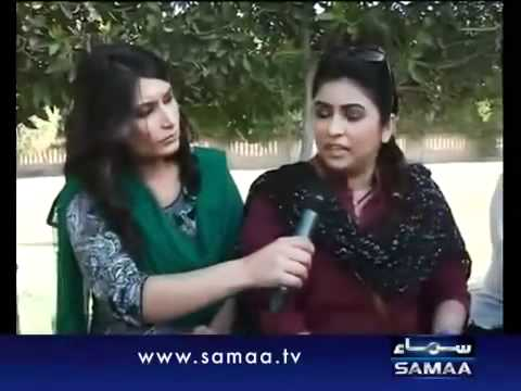 Samma TV Maya Khan raids in Clifton Karachi