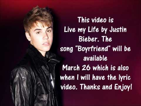 Justin Bieber- Boyfriend Lyrics [NEW SONG 2012]