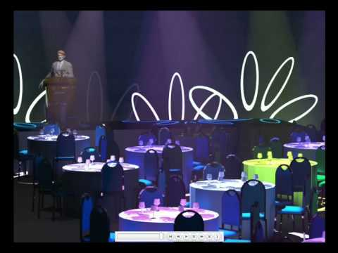 Vivien Virtual Event Designer Tutorial 4 of 6 - Lighting Tips and Tricks