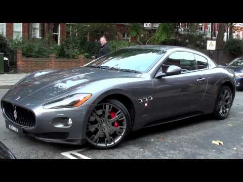 Maserati Granturismo S MC Sportline Sound - Startup and Accelerate