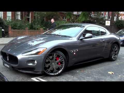 Maserati Granturismo S MC Sportline Sound - Startup and Accelerate